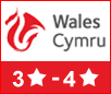 Visit Wales 3 to 4 Star Self-catering