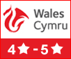 Visit Wales 4 to 5 Star Self-catering